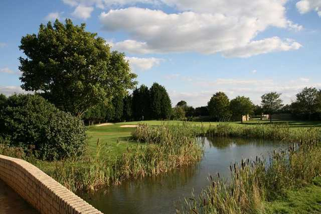 Several water hazards provide the ultimate challenge at Bicester GC