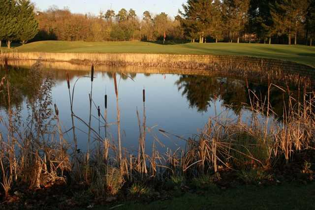 Picturesque view over one of the fairways at Bicester GC