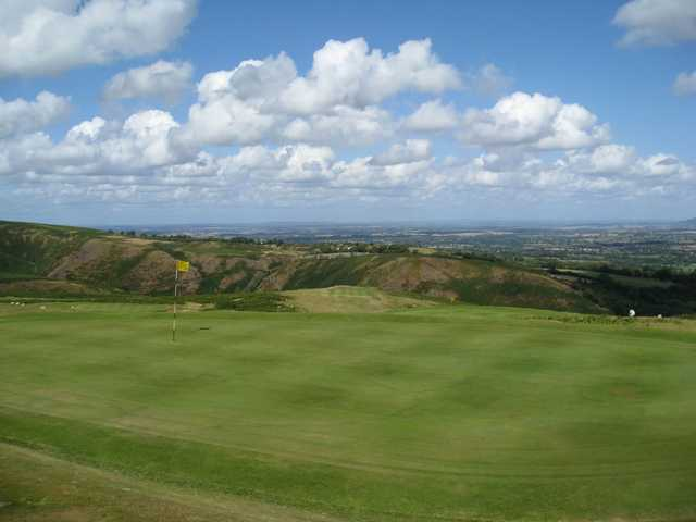 Picturesque views of the 14th, 12th and 8th greens at Church Stretton Golf Club
