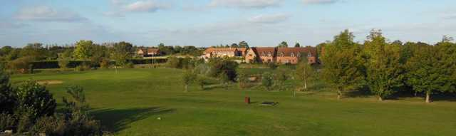 The view from the 10th tee at Colmworth and North Beds Golf Club.