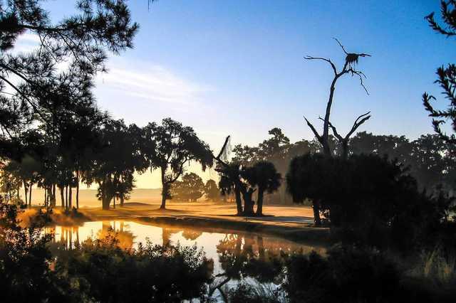 A dawn view from Callawassie Island Club