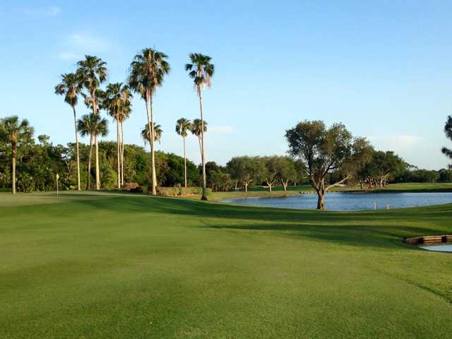 A view of a green at East Course from Eastpointe Country Club.