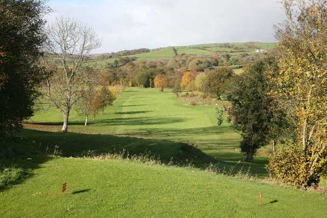 View from Rhosgoch Golf Course