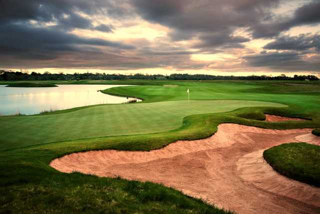 The 4th green at Rockliffe Hall