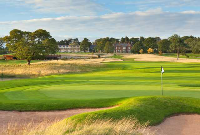 The golf course at Rockliffe Hall