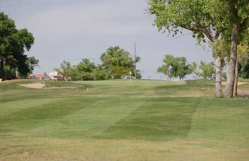 A view of the 8th hole at Club Rio Rancho