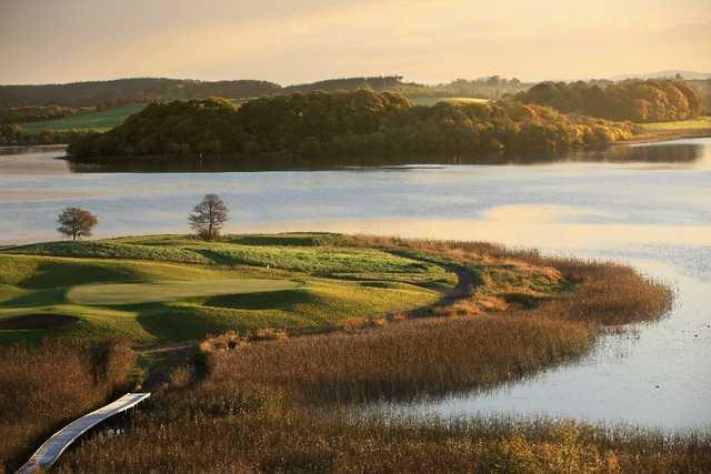 7th hole - Devnish Drop - from The Faldo Course