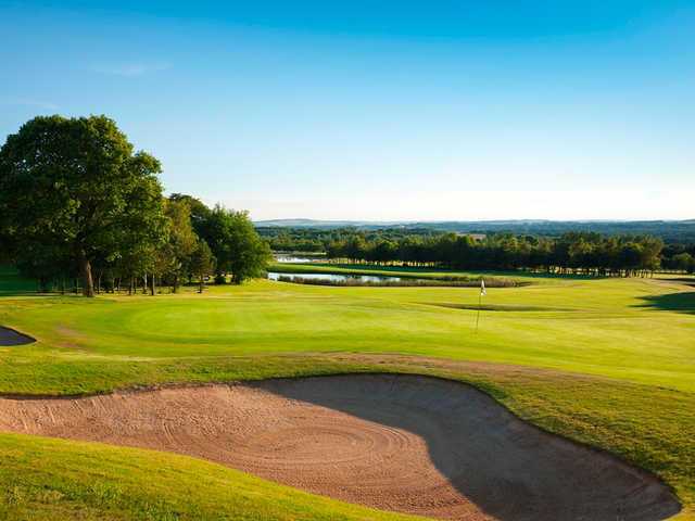 The 8th hole on the Princes Bishop Course at Ramside Hall