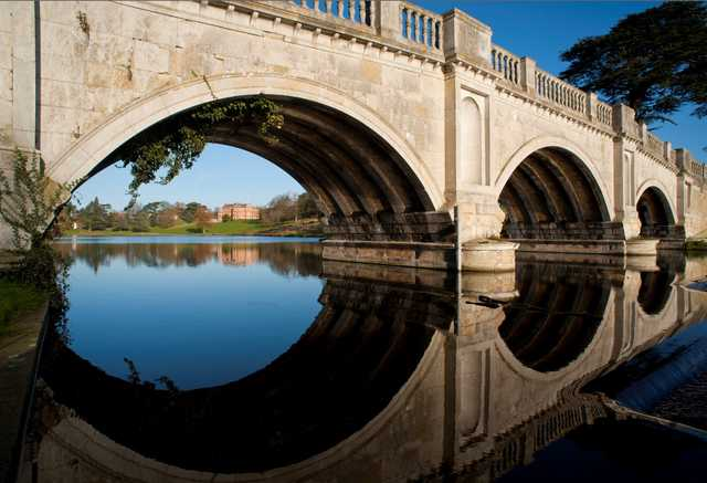 The bridge at The Melbourne Golf Club at Brocket Hall
