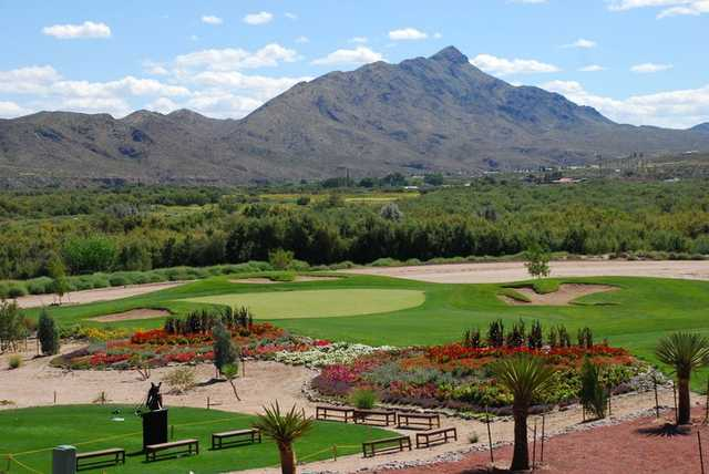 A view from Sierra del Rio Golf Course