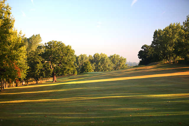 The 1st hole at Uxbridge Golf Club