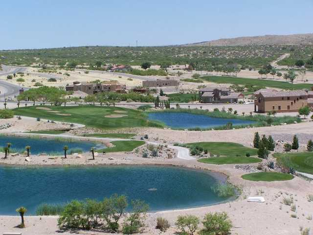 Aerial view from Sierra del Rio Golf Course