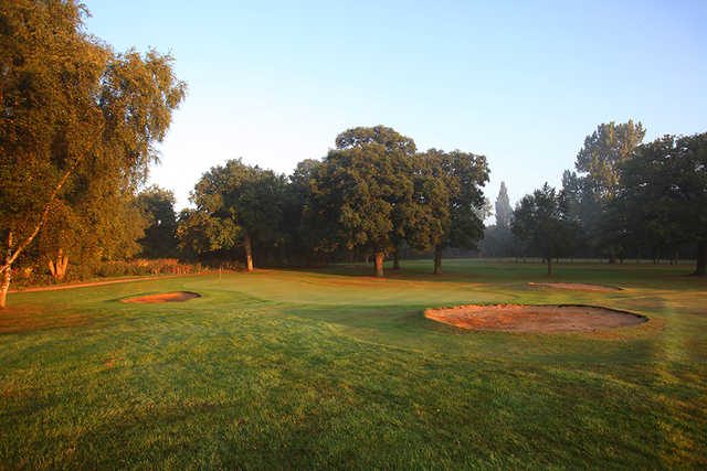 A look at the tight greens at Uxbridge Golf Club