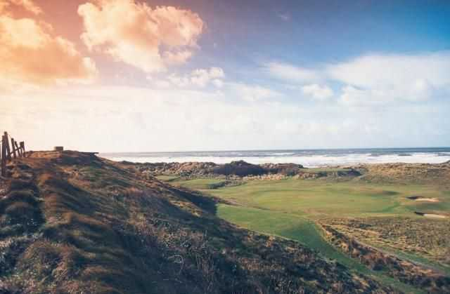 Stunning landscape at Borth & Ynyslas Golf Course