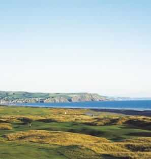 Refreshing sea views from the course at Borth and Ynyslas Golf Club
