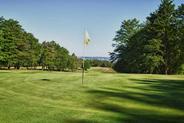 View from a green at Addington Golf Club