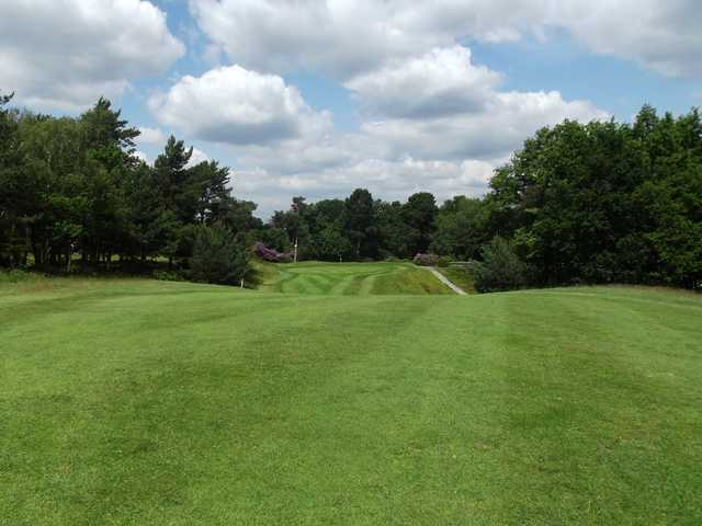 The 16th green at Addington Golf Club