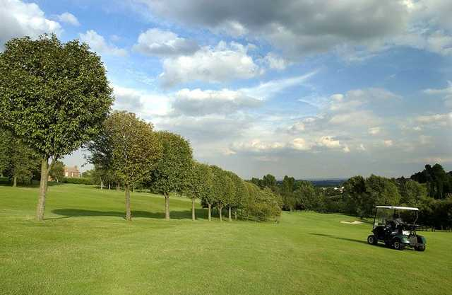 View from Mapperley GC