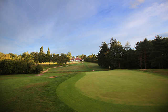 A look back at the 1st hole at Haste Hill Golf Club