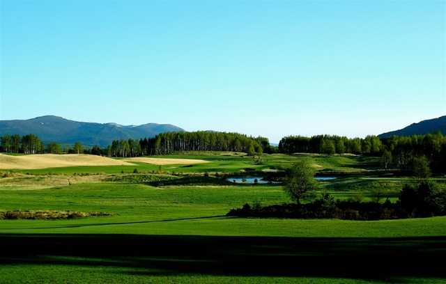 The view at Spey Valley golf course