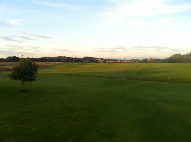 Fairway leading to the 2nd green at Staining Lodge Golf Club