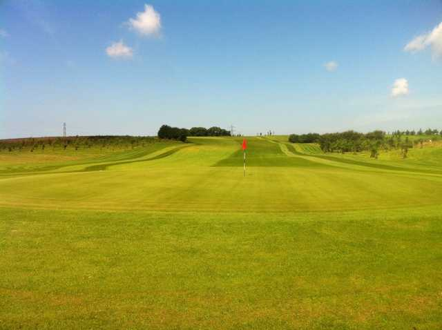 11th green at Staining Lodge Golf Club