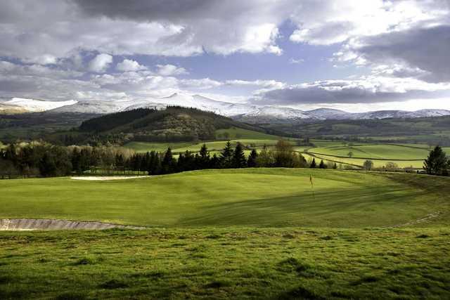 Wonderful scenery at Cradoc Golf Club