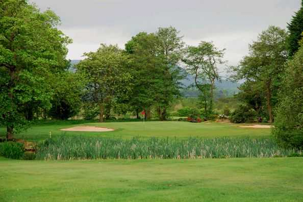 17th hole at Clitheroe5th hole