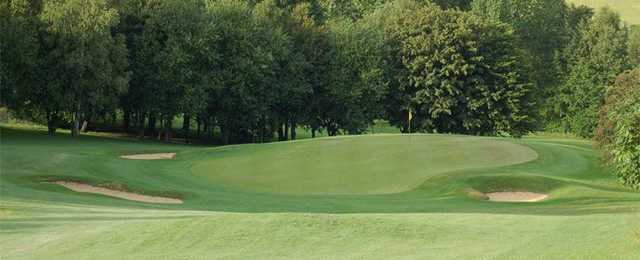 The par-3 5th as seen at Marlborough Golf Club.