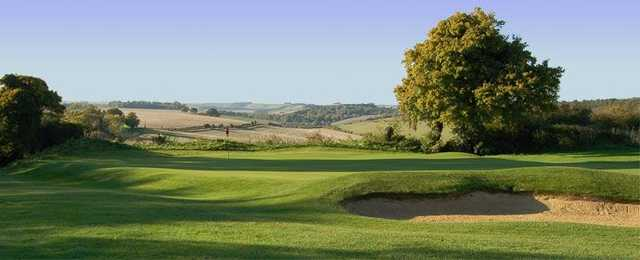 Wonderful views from the 14th green at Marlborough Golf Club.