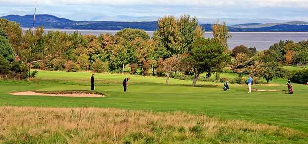 View over the 13th at Morecambe