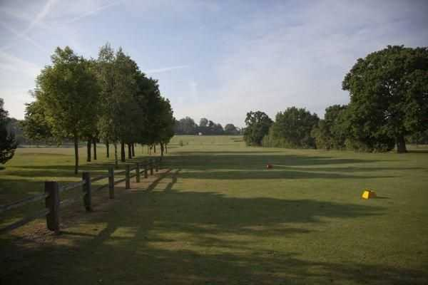 View down a fairway at Brent Valley Golf Club