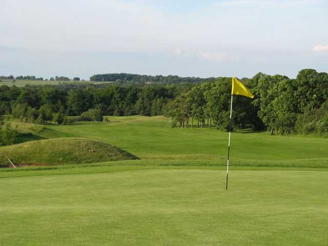 Immaculate greens at Cookridge Hall Golf Club