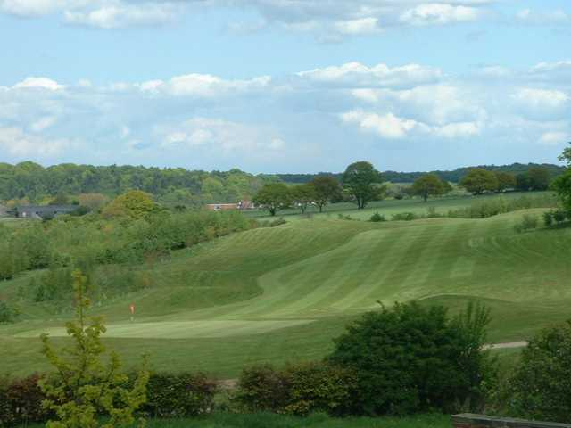 Sloping fairways at Cookridge