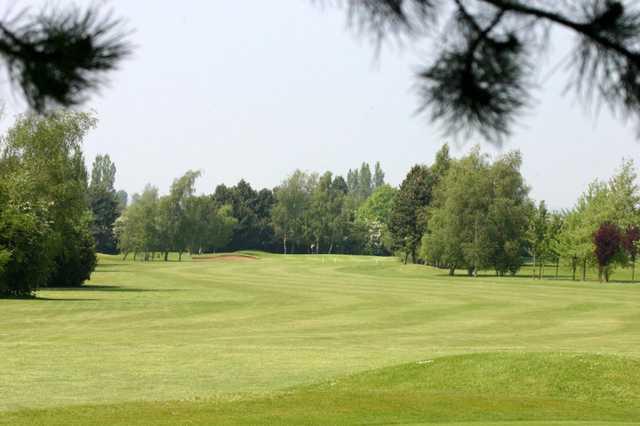 A fairway at Weston Turville Golf Club