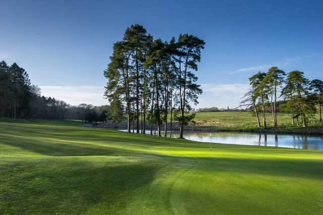 The 6th hole at Heythrop Park