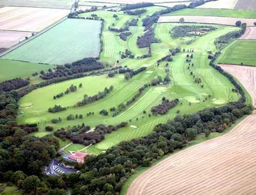 Kirkbymoorside aerial