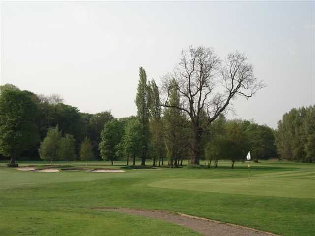 A view of the 5th and 6th greens from Didsbury Golf Club