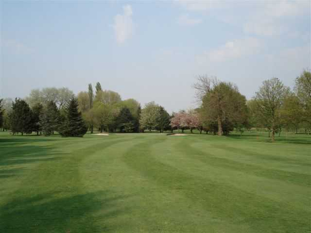 The 17th green at Didsbury Golf Club