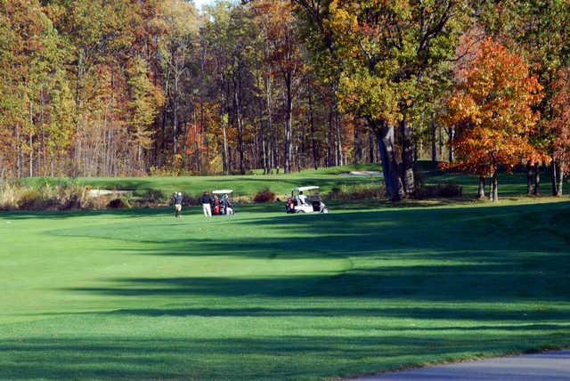 View from Lyon Oaks Golf Club