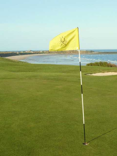 Green from Alnmouth GC
