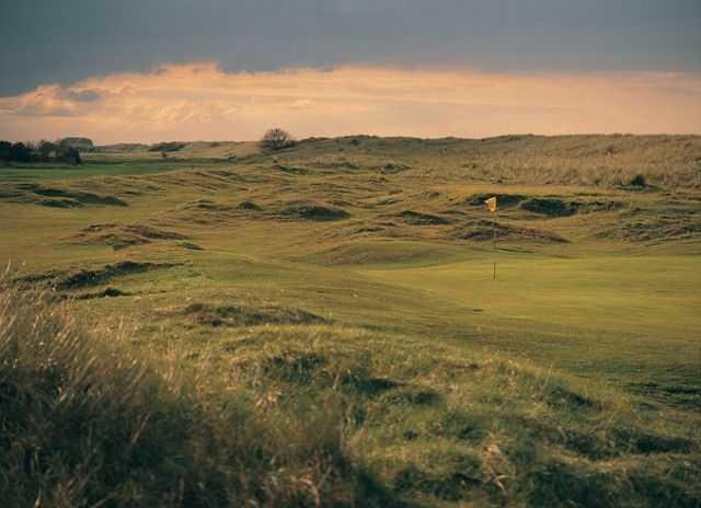Stunning Prestatyn Golf landscape