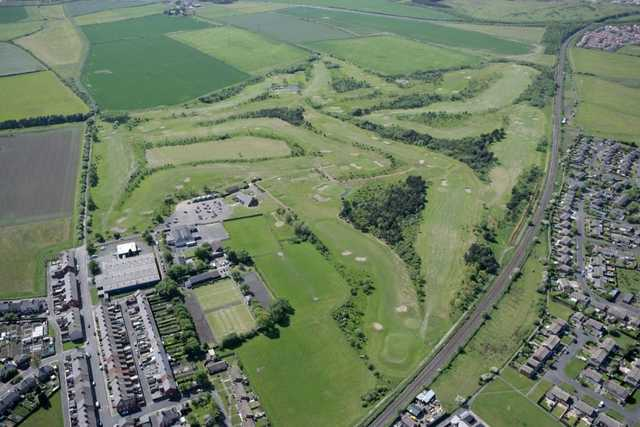 Aerial view of Blyth Golf Club