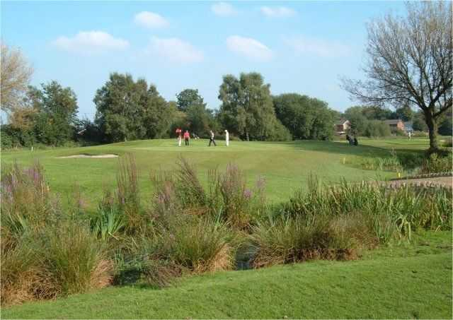 View of a green at Blackley Golf Club