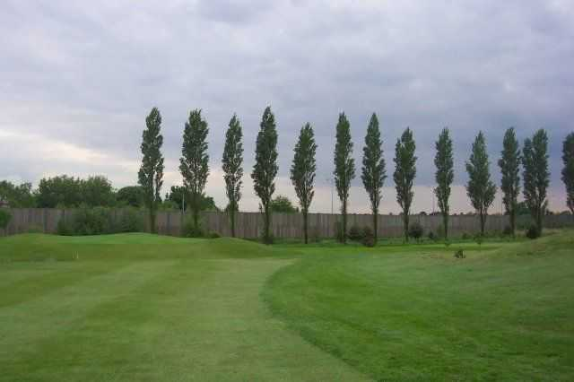 Sloping fairway at Blackley Golf Club