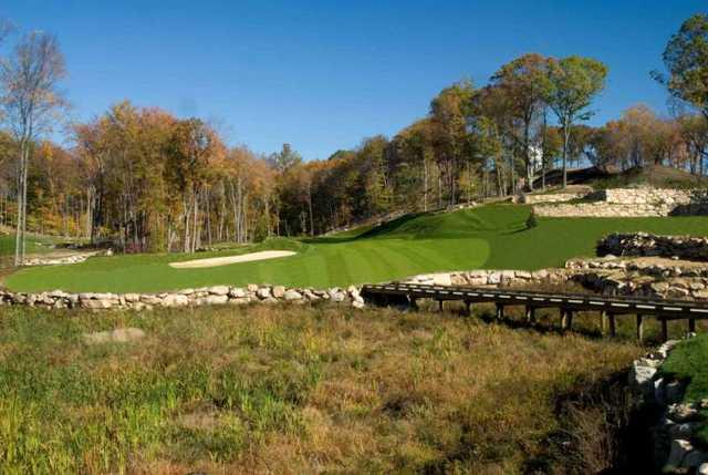 A view from Pound Ridge Golf Club