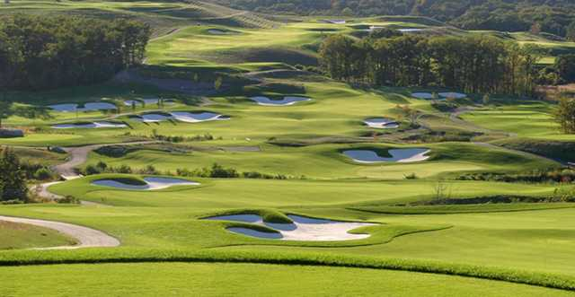 A view from Granite Links Golf Club At Quarry Hills