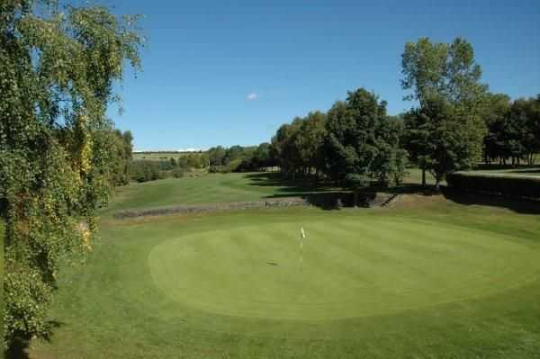 A look at the tricky 2nd from Howley Hall Golf Club