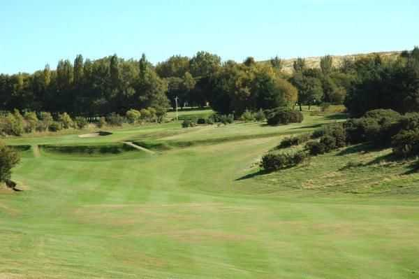 The long par-5 6th from Howley Hall Golf Club