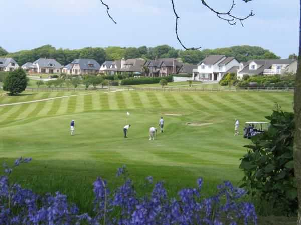 View from Bowood Park GC